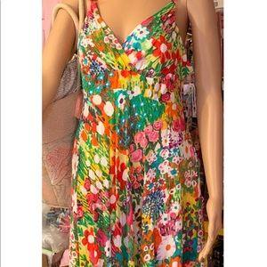 Jams World Connie SpringFlowers Print Large NWT